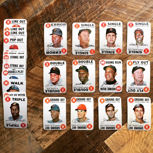 1968 Topps Game Baseball Card Inserts Featured